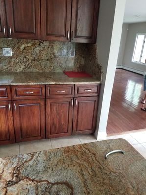 Before & After Kitchen Cabinet Painting in Guttenberg, NJ (3)