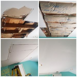 Before & After Drywall Repair in Oradell by JAF Painting LLC