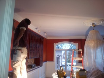 After Drywall Repair and Interior Painting in Tenafly, NJ