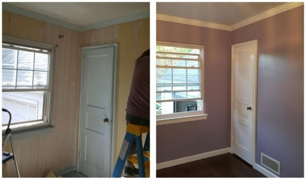 Wallpaper Removal & Interior Painting in Bergenfield, NJ