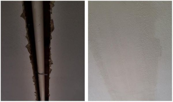 Before & After Drywall Repair in Union City, NJ (1)