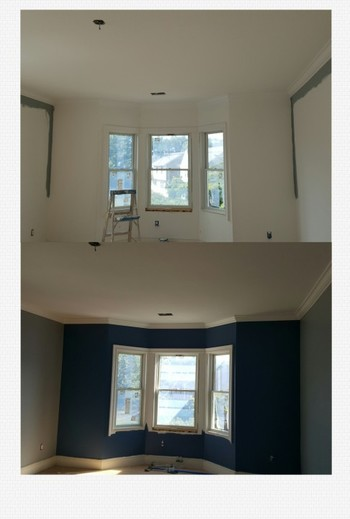 Before & After Interior Painting in Guttenberg, NJ