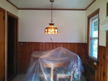 Before Interior Painting New Milford NJ